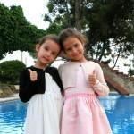 Gyönyörű lánykáink a Gála vacsorán