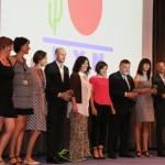 A győztes csapat elismerése