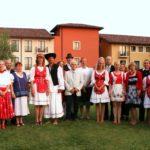 A nagy létszámú magyar csapat Tündi és Szabi vezetésével